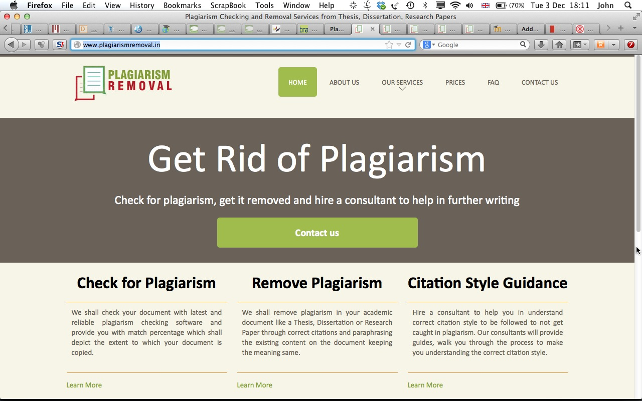 how are dissertations checked for plagiarism