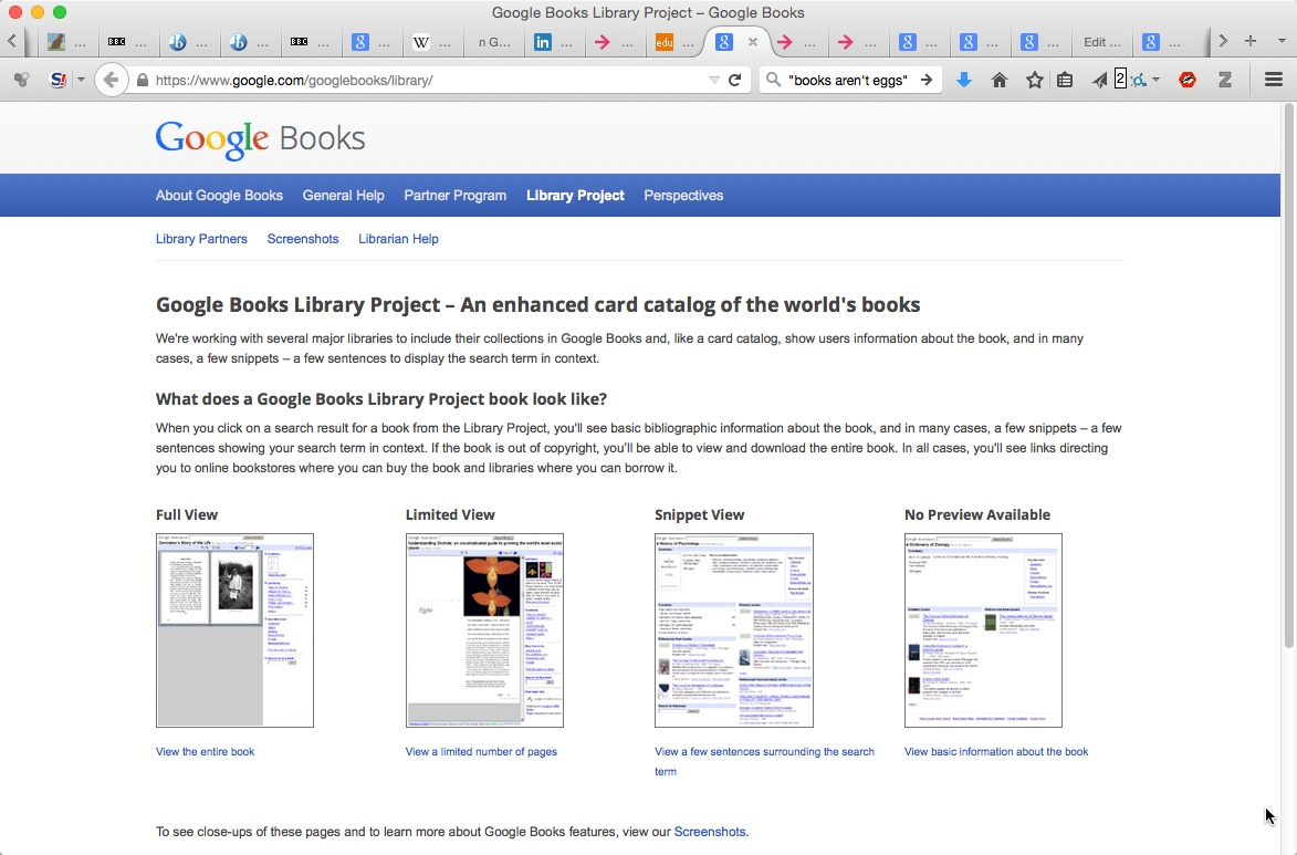 google library project